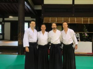 Aikido Kyoto international seminar 2018 DAF