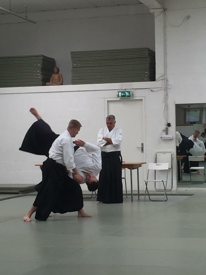 Yondan Ivo van der Lem Leidden aikido